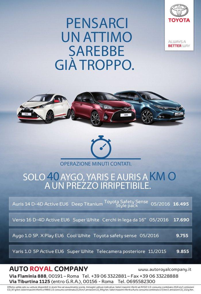 toyota-km-0 - auto royal company